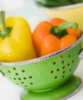 Yellow-red-peppers